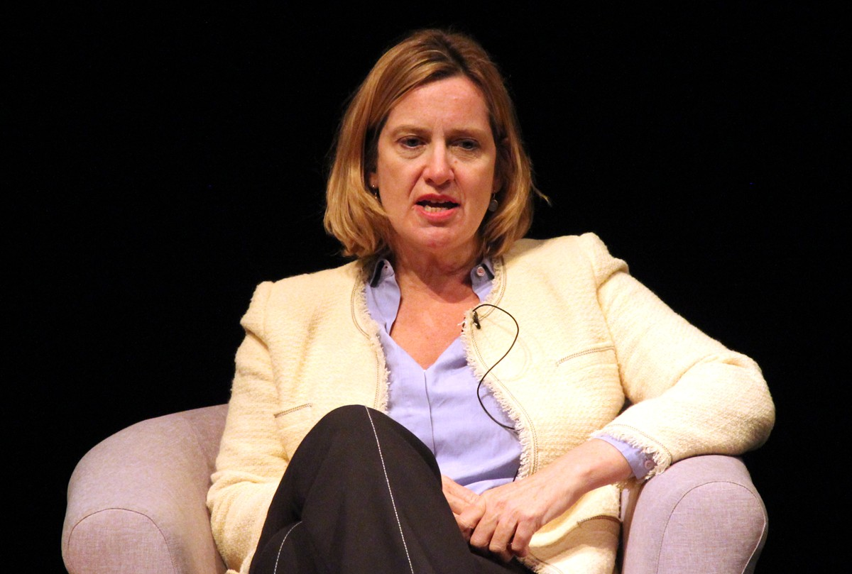 Amber Rudd spoke at Benenden just weeks after resigning as Home Secretary