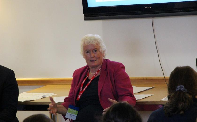 Margaret Mountford launches the Professional Skills Programme